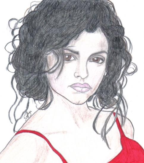 Monica Cruz por Sofya